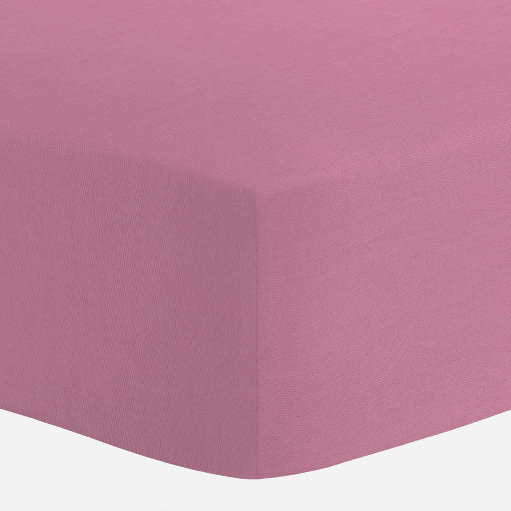 Product image for Solid Hot Pink Crib Sheet