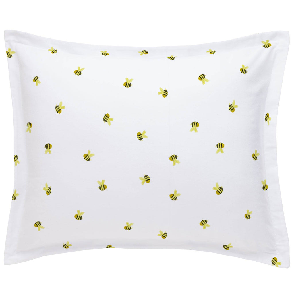 Product image for Watercolor Bees Pillow Sham