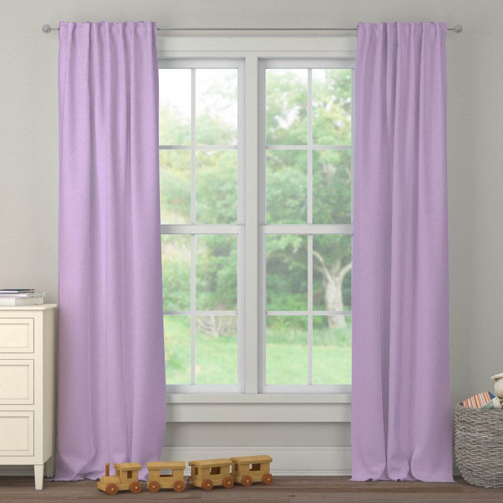 Product image for Pastel Purple Heather Drape Panel