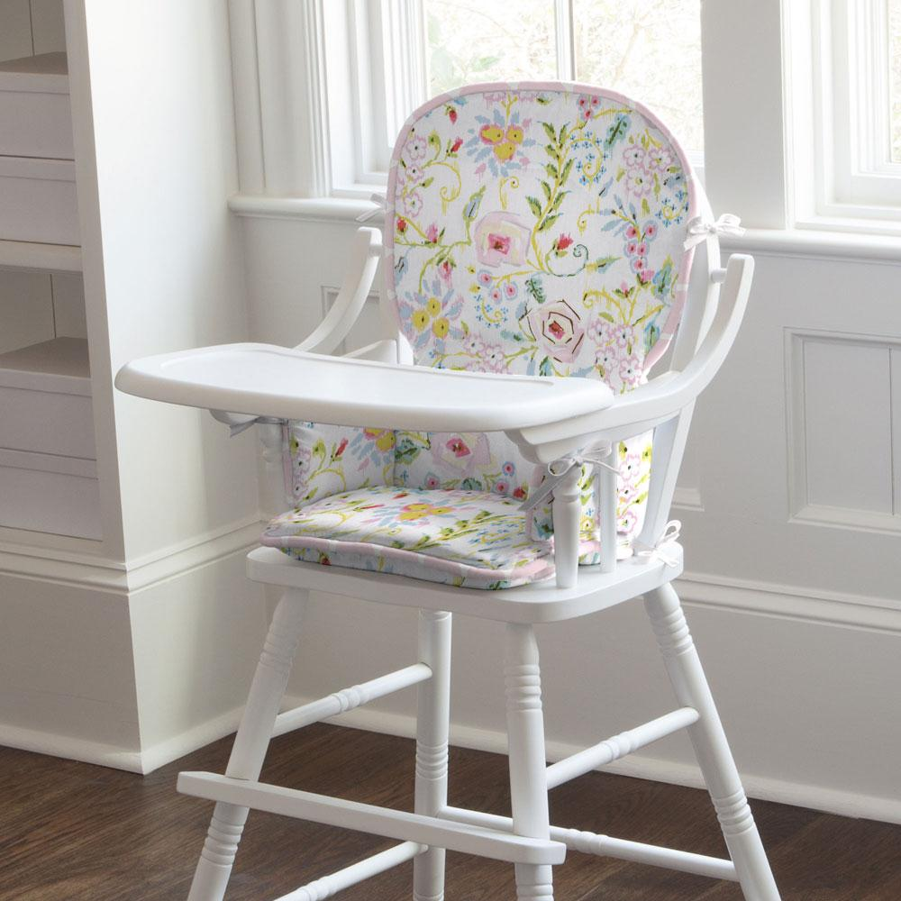 Product image for Pink Primrose High Chair Pad