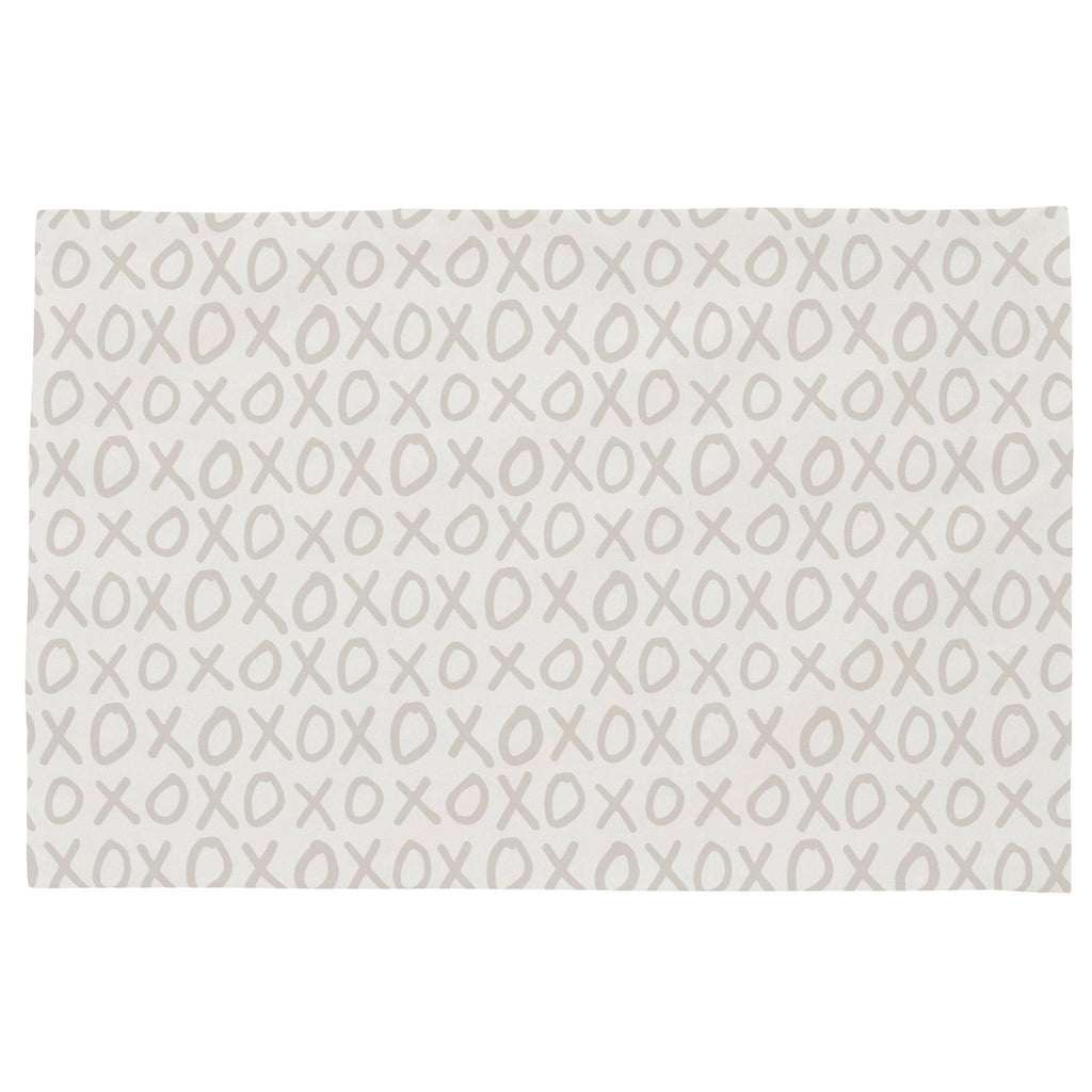 Product image for Taupe XO Toddler Pillow Case