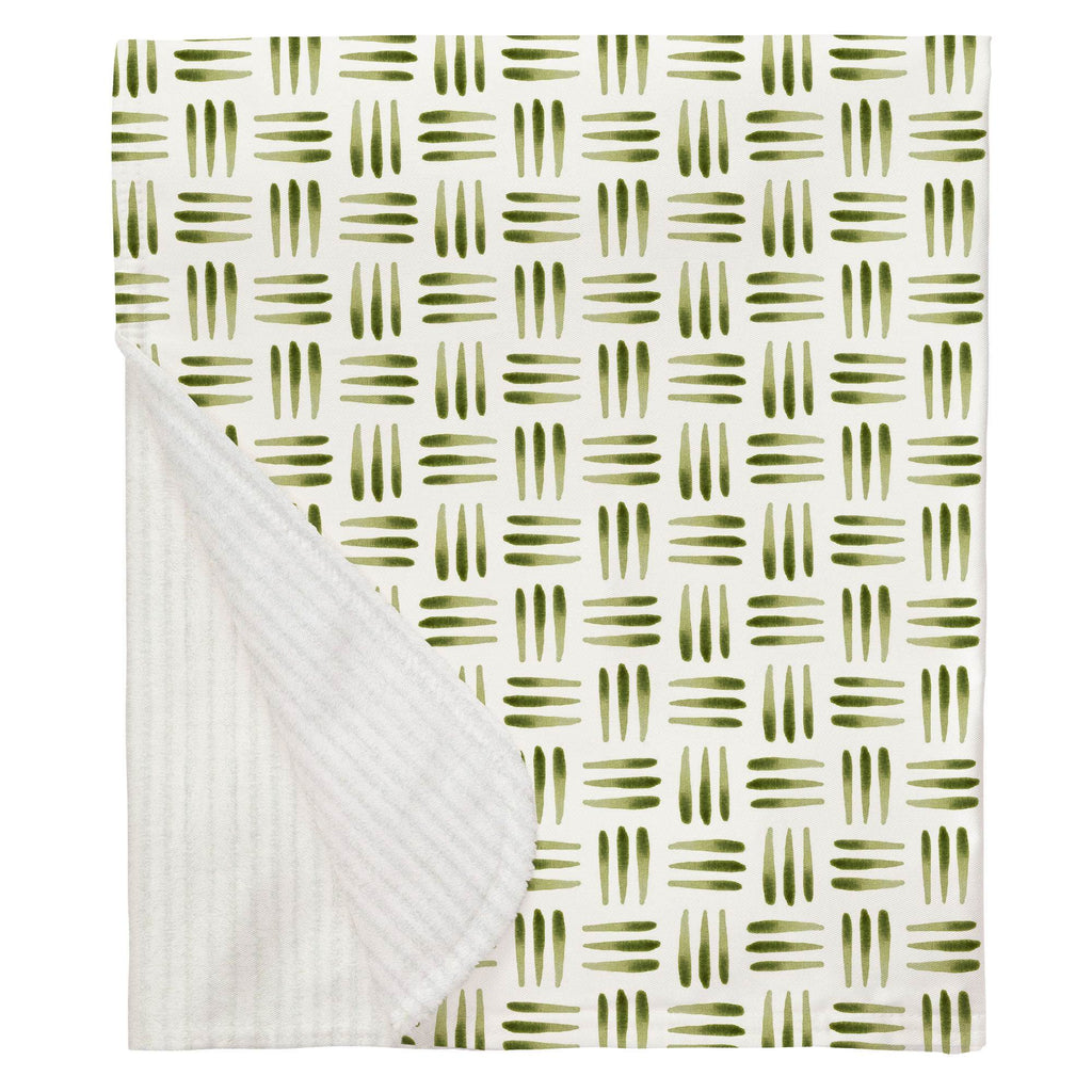 Product image for Sage Basket Baby Blanket