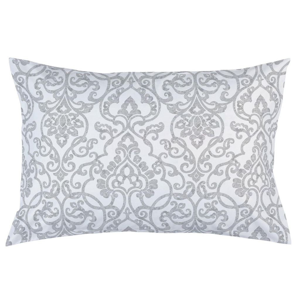 Product image for Gray Filigree Pillow Case
