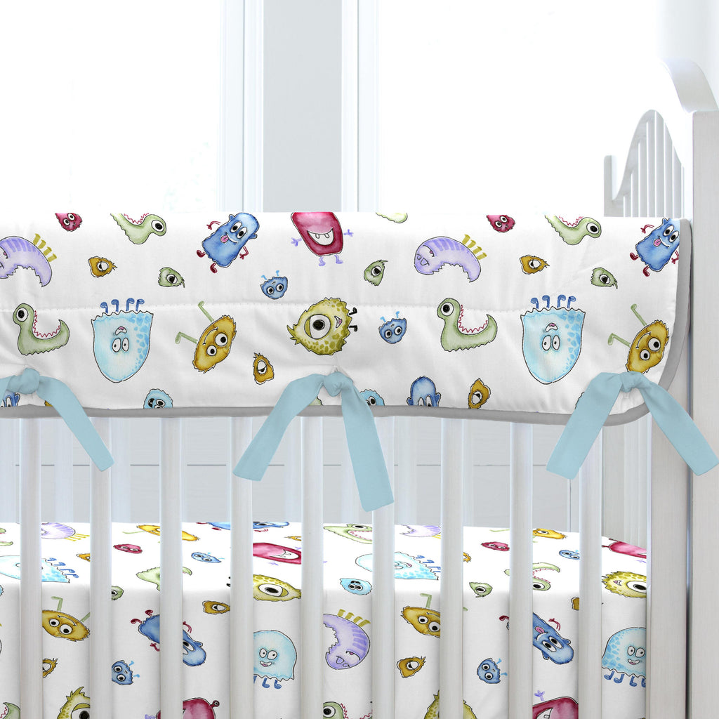 Product image for Watercolor Monsters Crib Rail Cover