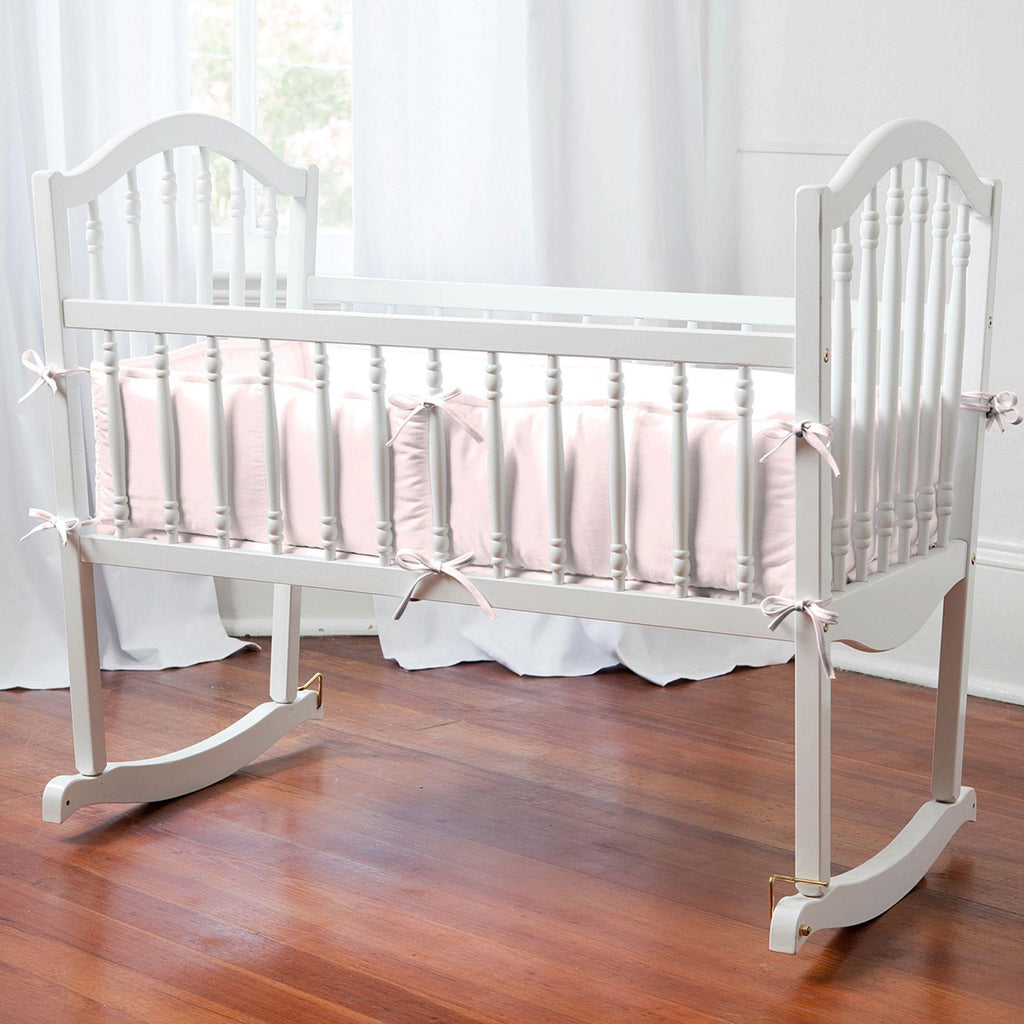Product image for Solid Pink Cradle Bumper