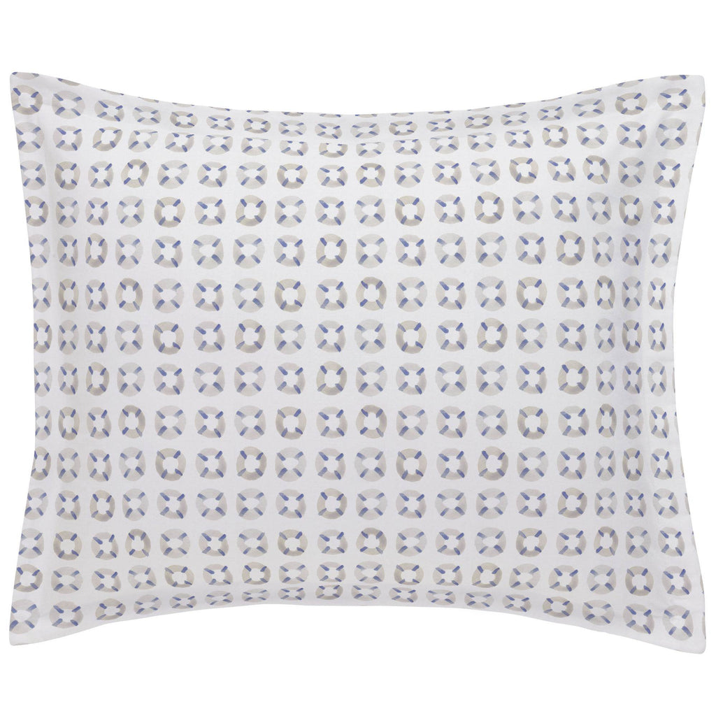 Product image for Watercolor Lifesavers Pillow Sham