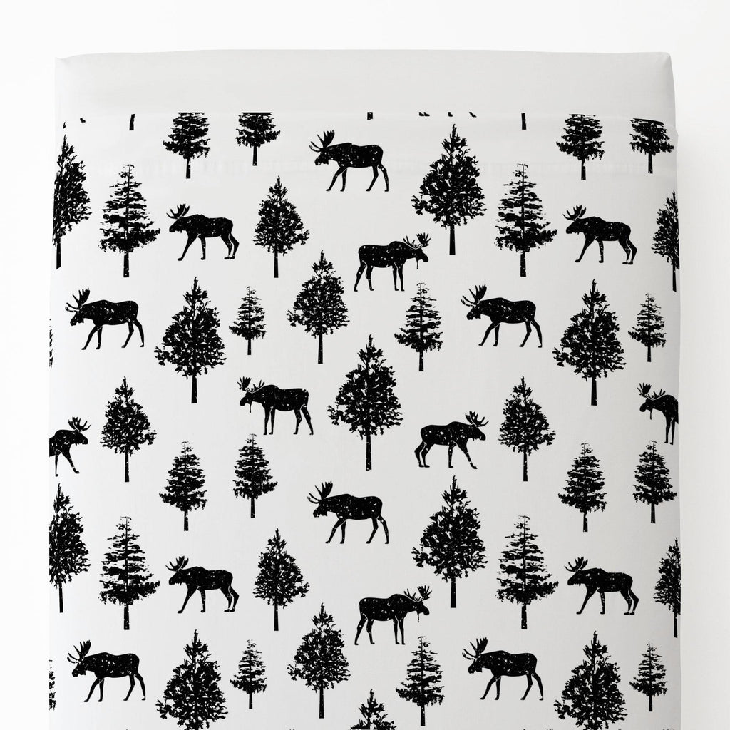 Product image for Onyx Moose Toddler Sheet Top Flat