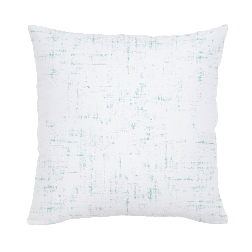 Product image for Mint Distressed Throw Pillow