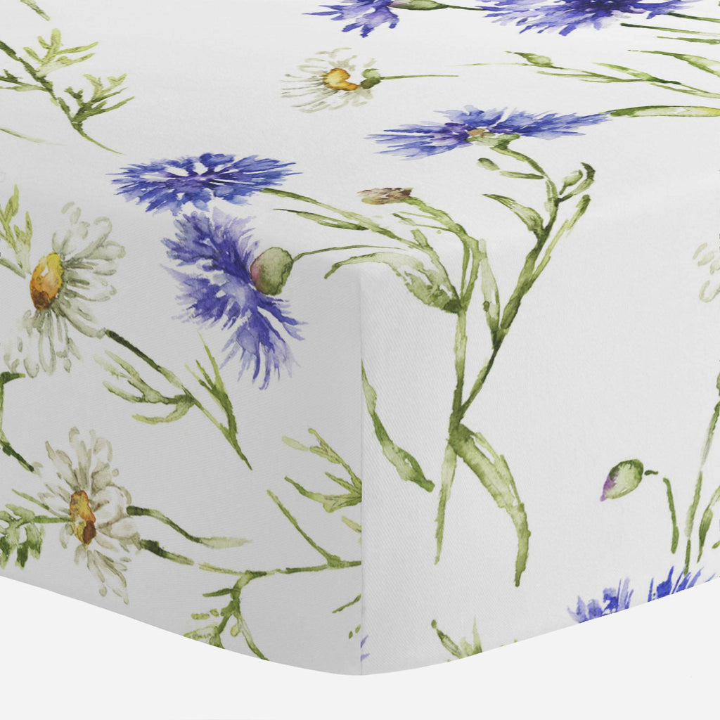 Product image for Cornflower Fields Crib Sheet