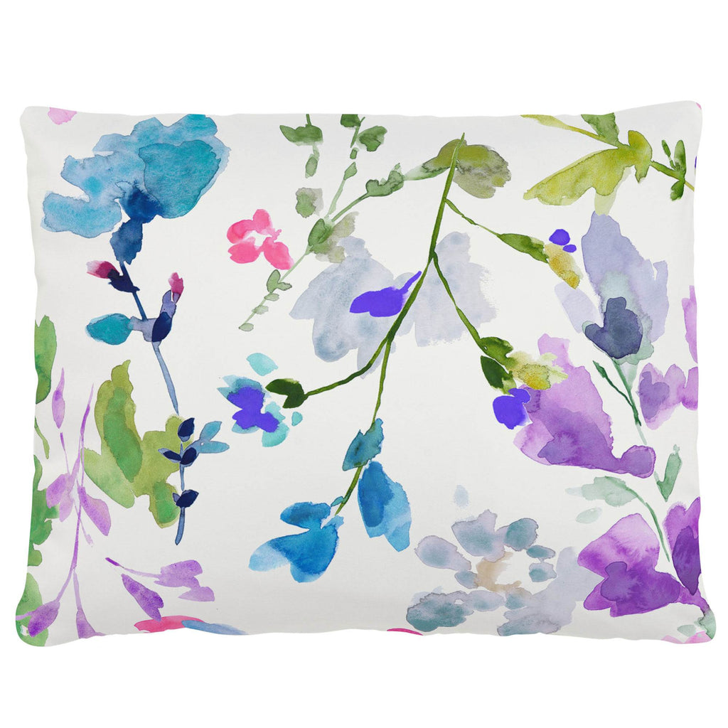 Product image for Bright Wildflower Accent Pillow