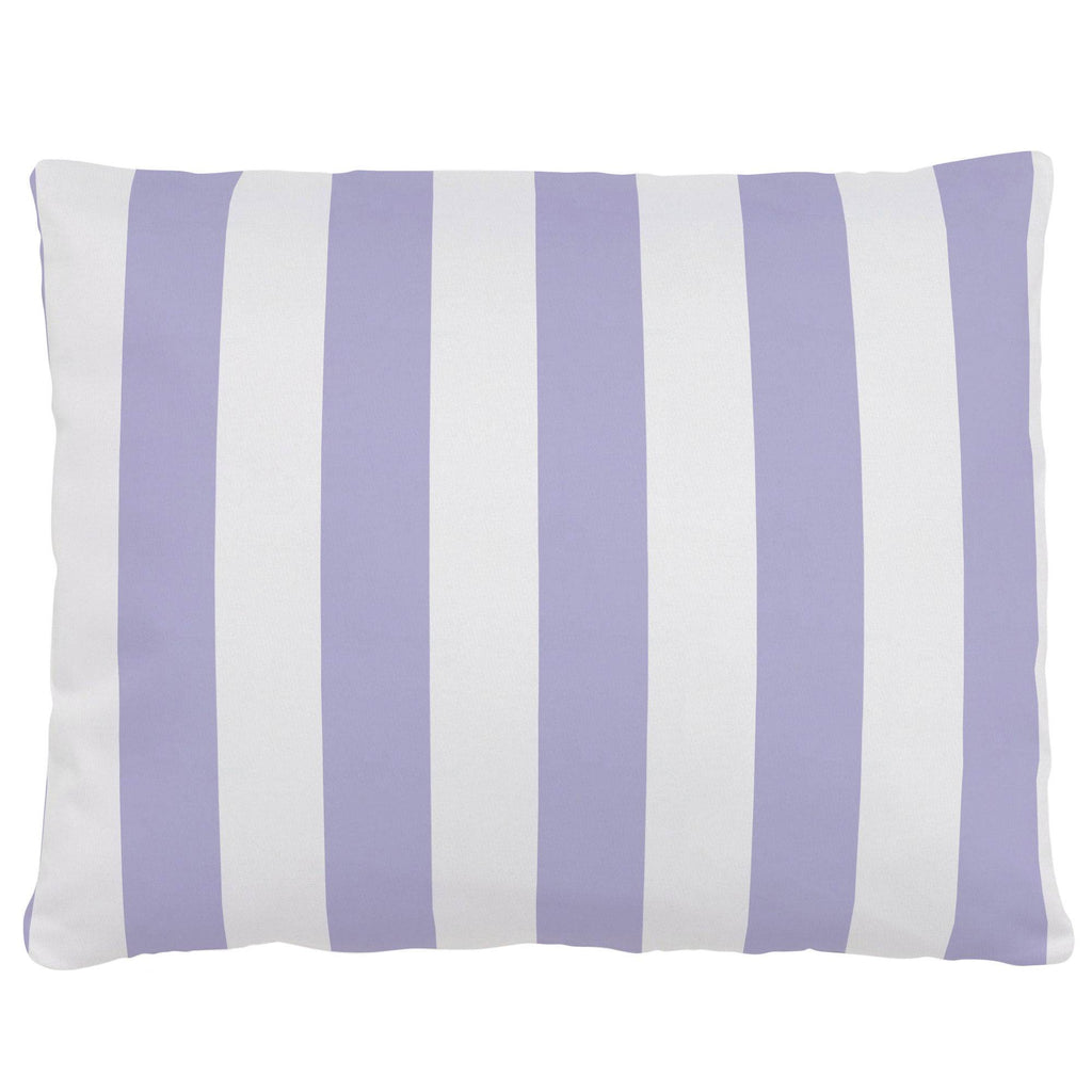 Product image for Lilac Stripe Accent Pillow