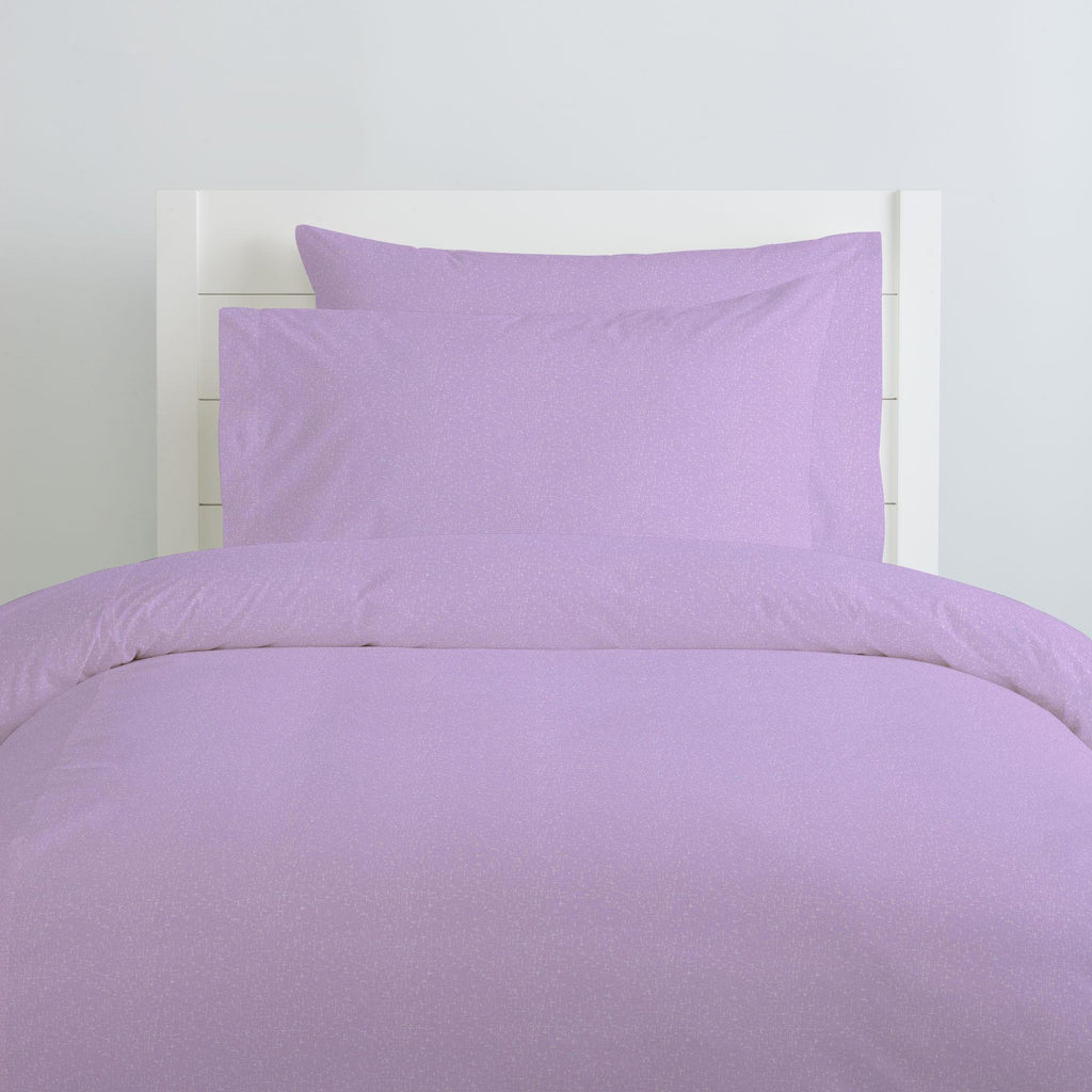 Product image for Pastel Purple Heather Duvet Cover