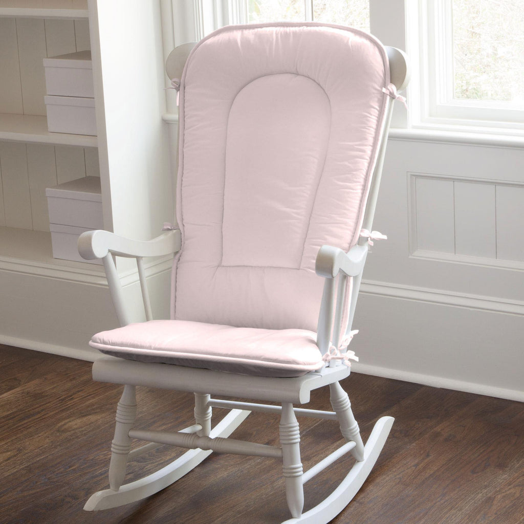Product image for Solid Pink Rocking Chair Pad