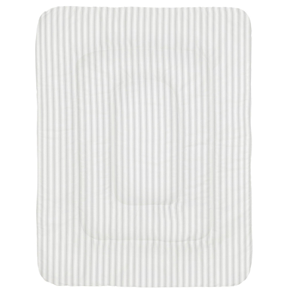 Product image for French Gray Ticking Stripe Crib Comforter