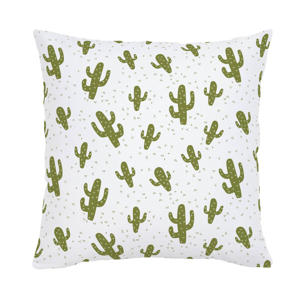 Product image for Sage Cactus Throw Pillow