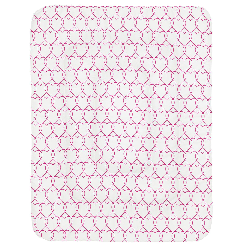 Product image for Fuchsia Sweetheart Crib Comforter