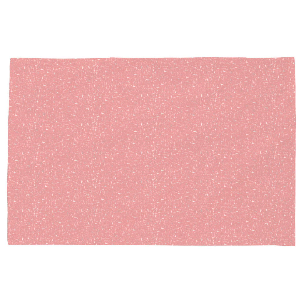 Product image for Coral Pink Heather Toddler Pillow Case