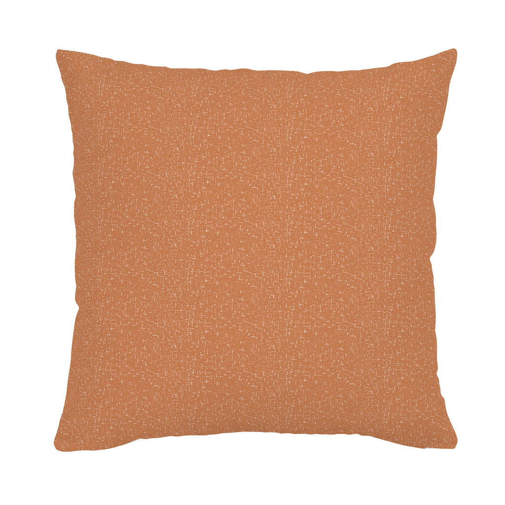 Product image for Fox Orange Heather Throw Pillow