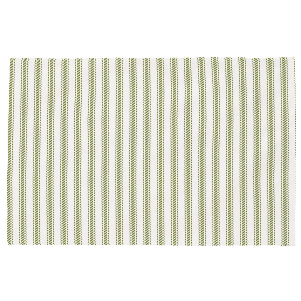 Product image for Sage Ticking Stripe Toddler Pillow Case