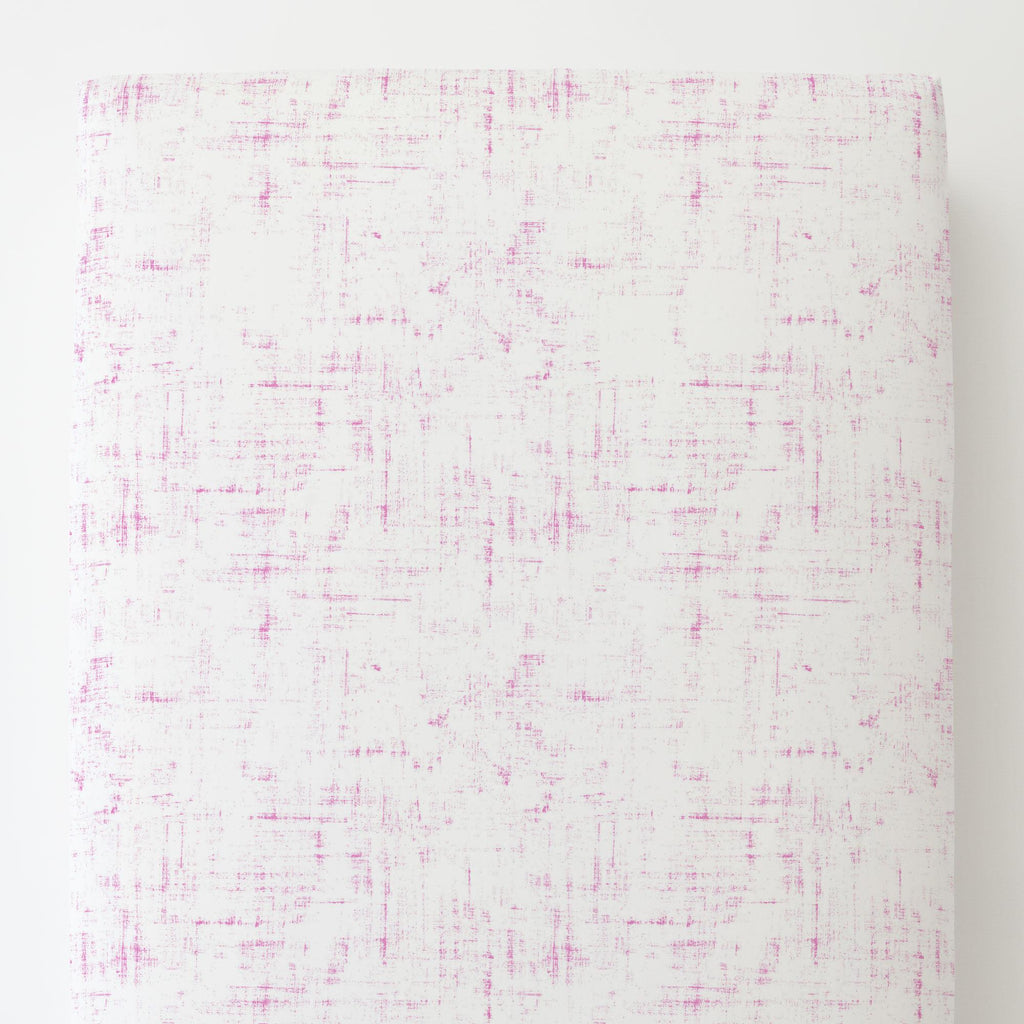 Product image for Hot Pink Distressed Toddler Sheet Bottom Fitted