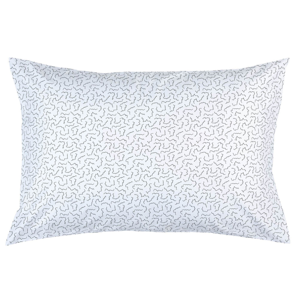 Product image for Slate Squiggles Pillow Case