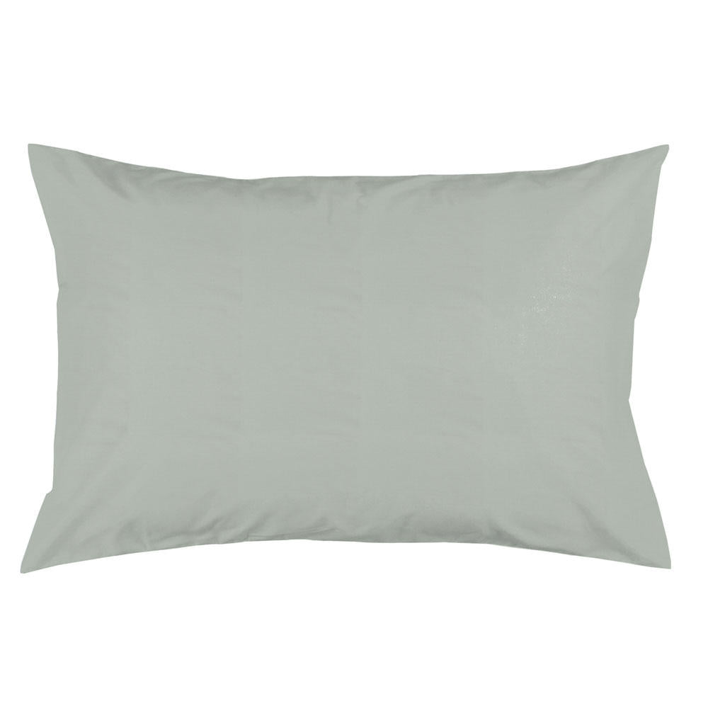 Product image for Solid Cloud Gray Pillow Case
