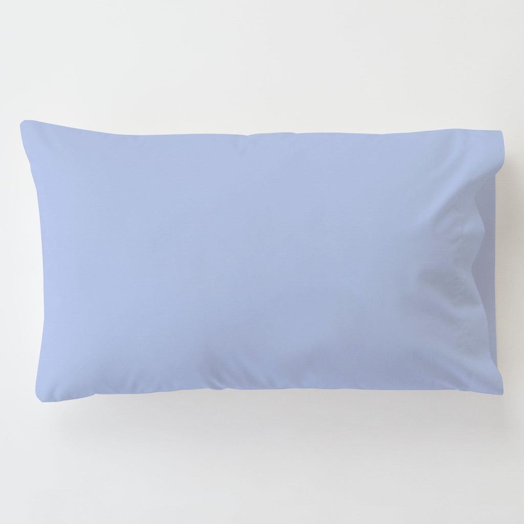 Product image for Ice Blue Toddler Pillow Case with Pillow Insert