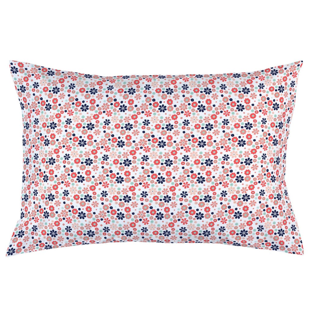 Product image for Coral Spring Flowers Pillow Case