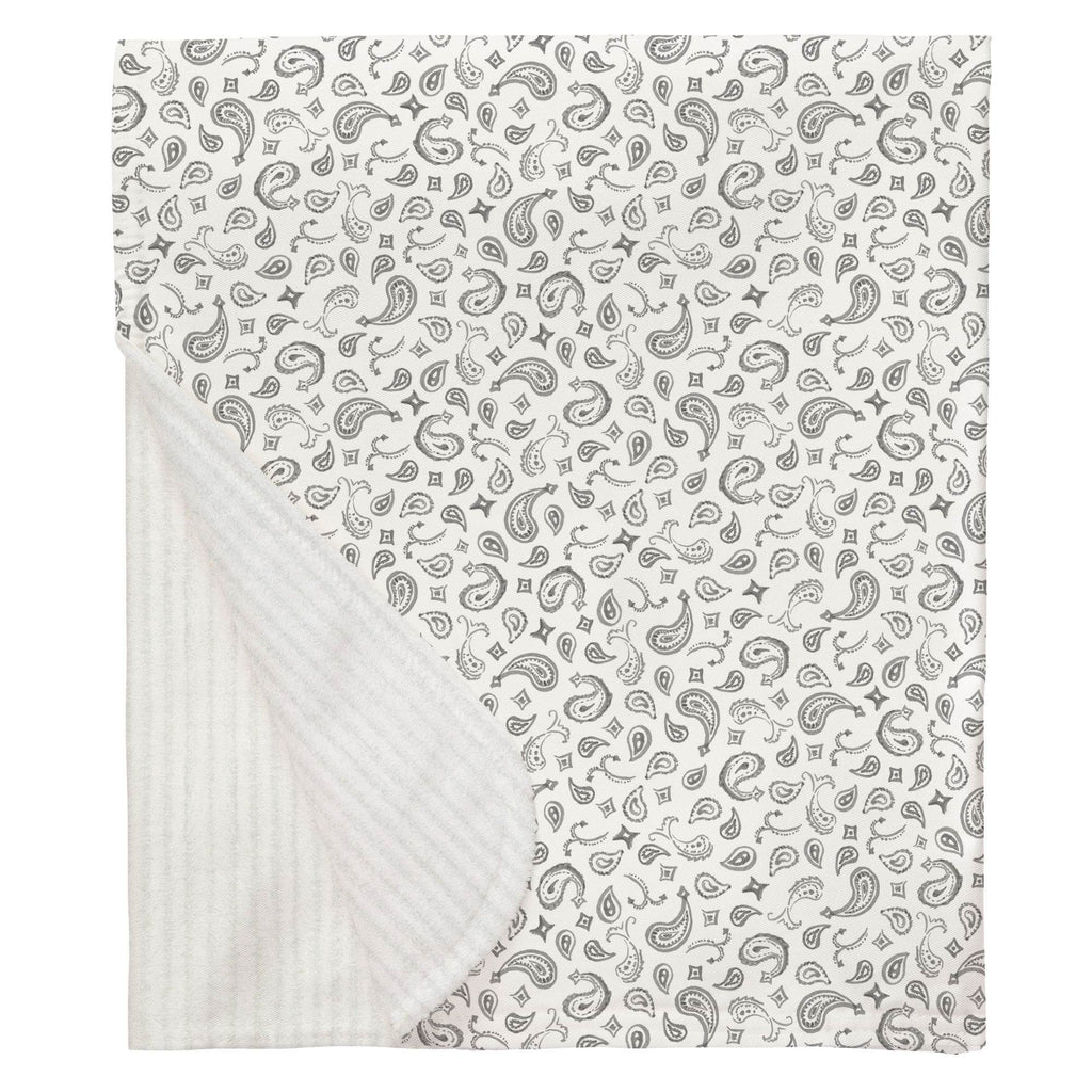 Product image for Bandana Paisley Baby Blanket