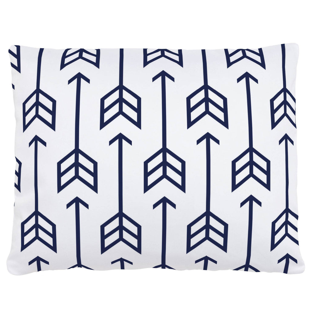 Product image for Navy Arrow Accent Pillow