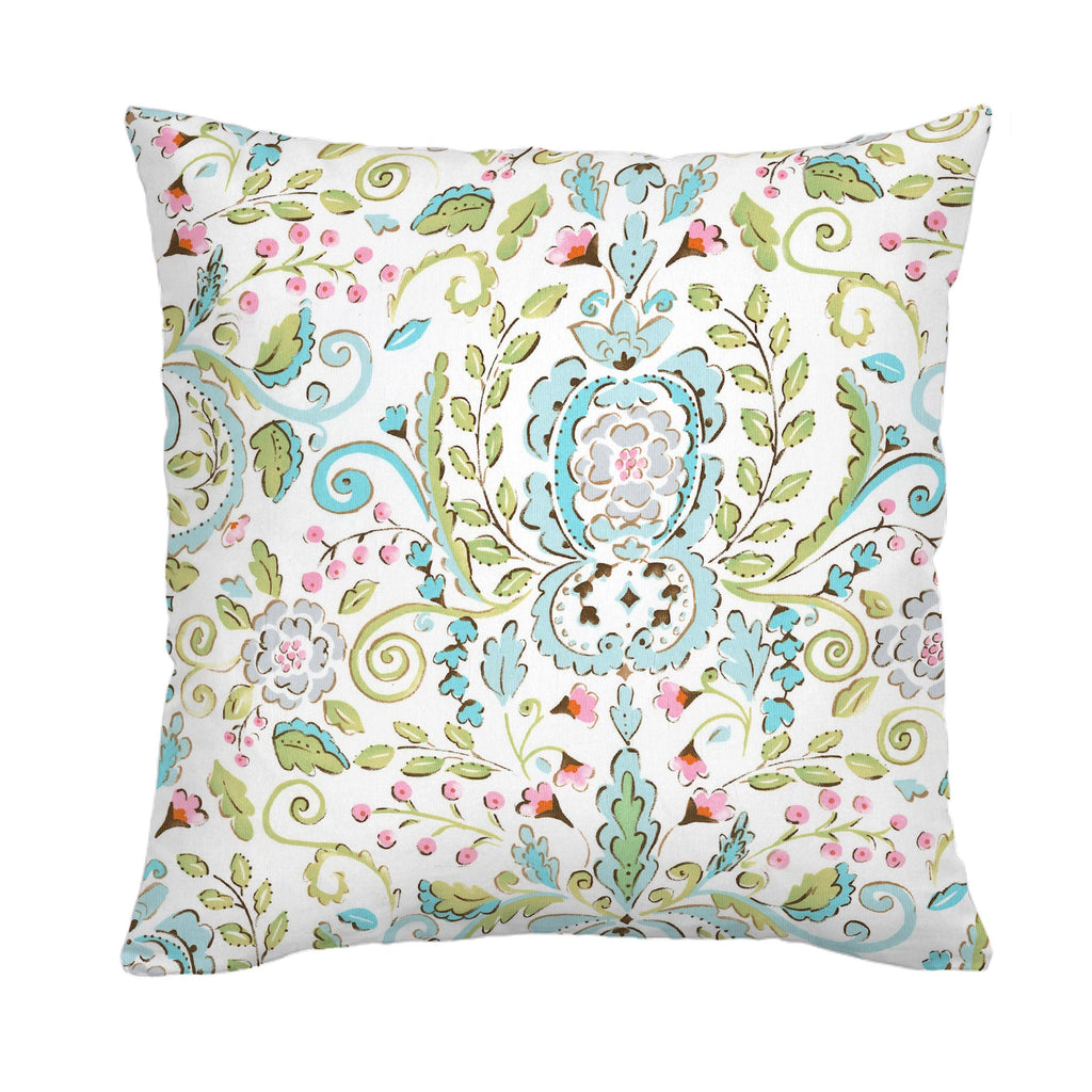 Product image for Love Bird Damask Throw Pillow