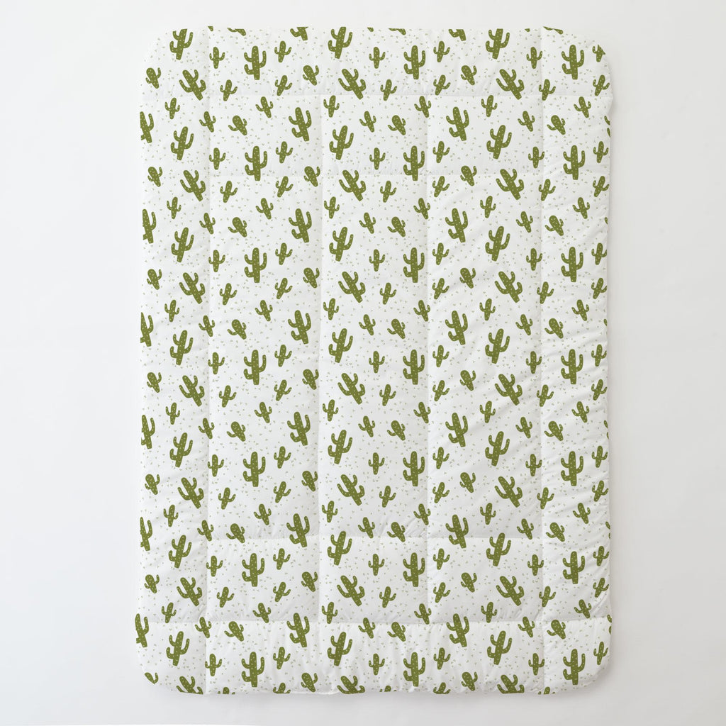Product image for Sage Cactus Toddler Comforter