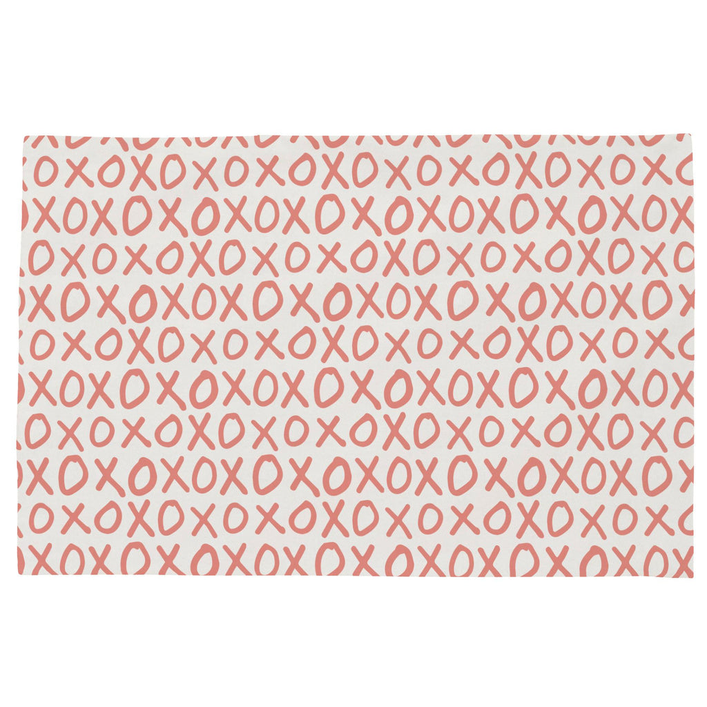 Product image for Light Coral XO Toddler Pillow Case