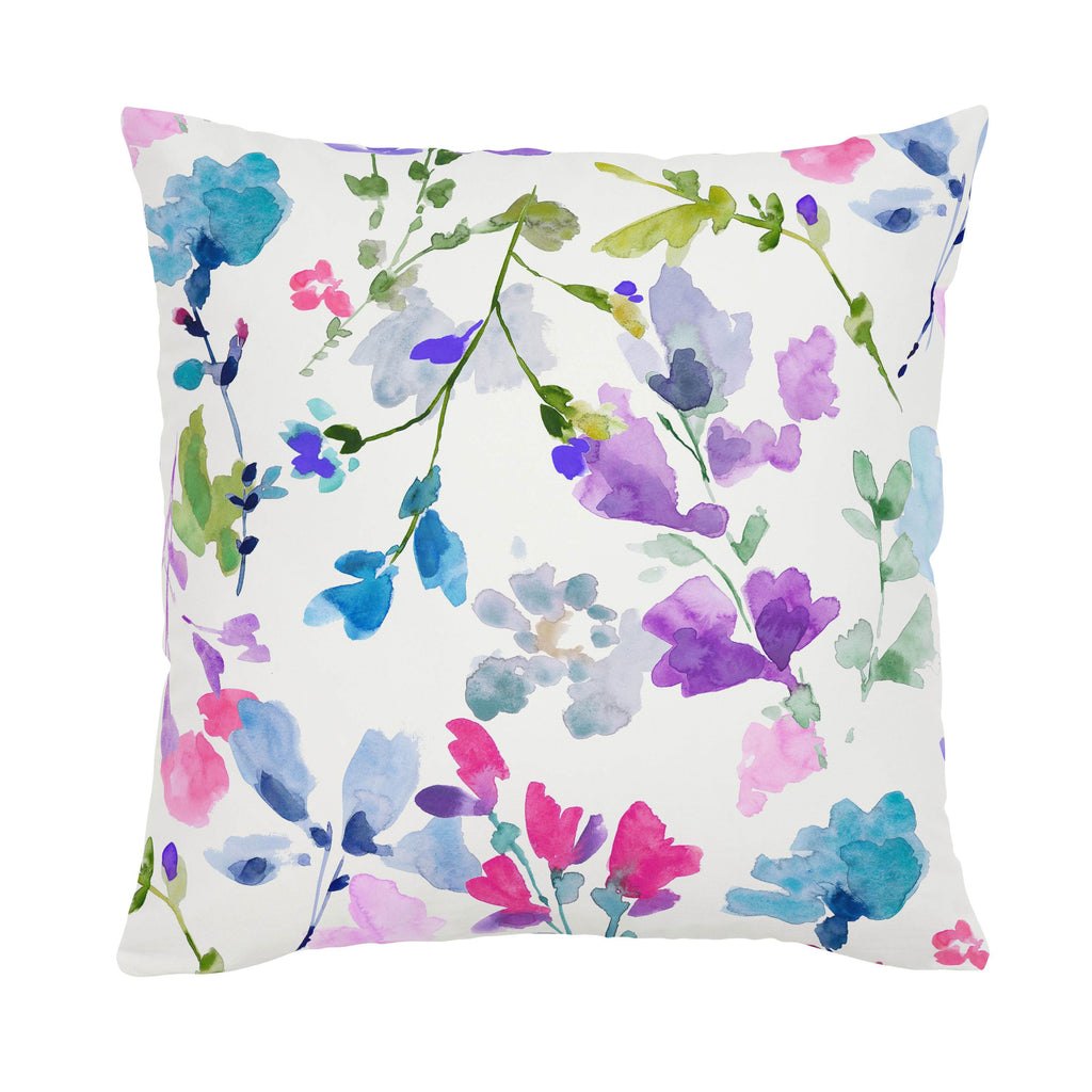 Product image for Bright Wildflower Throw Pillow