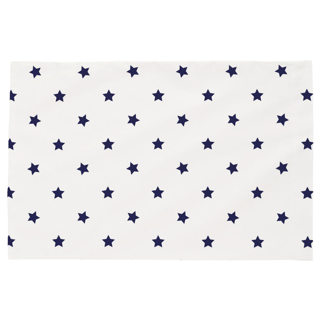Product image for Navy Stars Toddler Pillow Case