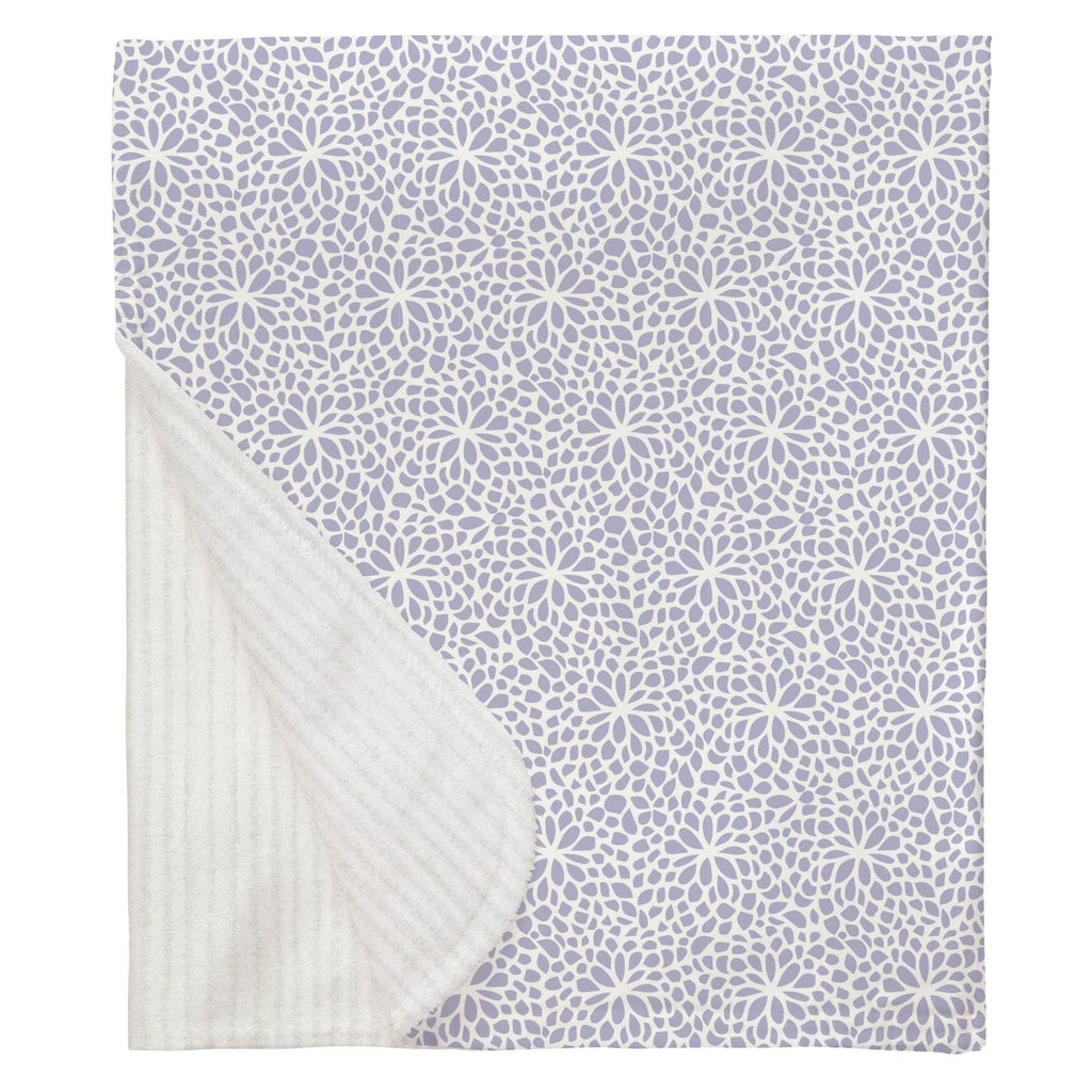 Product image for Lavender Modern Mums Baby Blanket