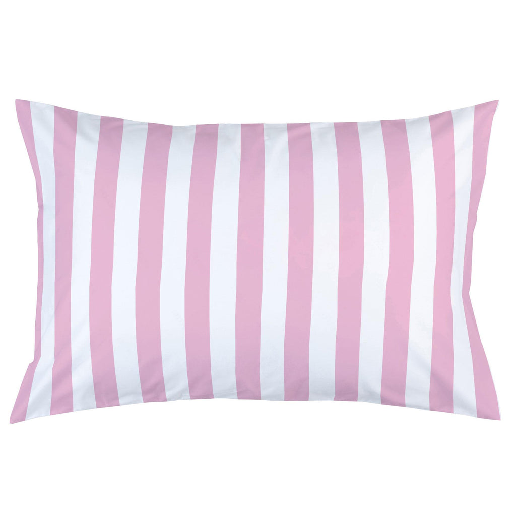 Product image for Bubblegum Pink Stripe Pillow Case