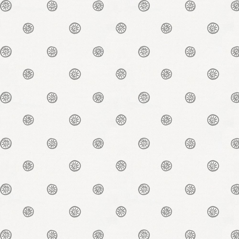 Product image for Cloud Gray Ditsy Dot Cradle Sheet
