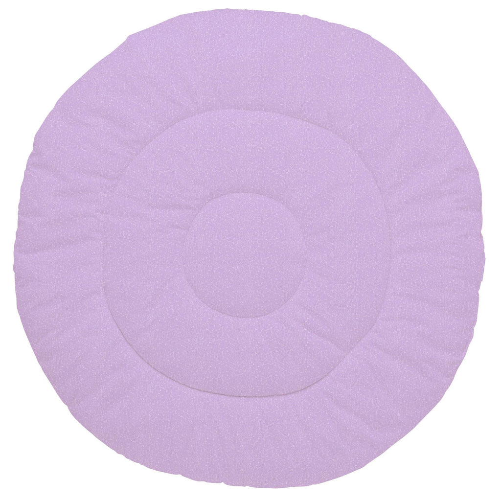 Product image for Pastel Purple Heather Baby Play Mat