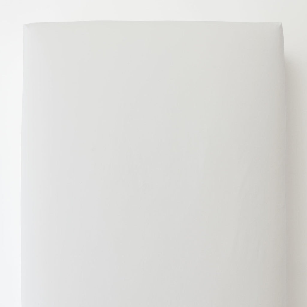 Product image for Solid White Toddler Sheet Bottom Fitted