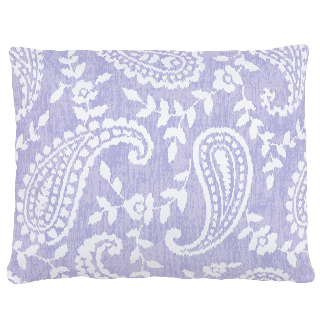 Product image for Lilac Paisley Accent Pillow