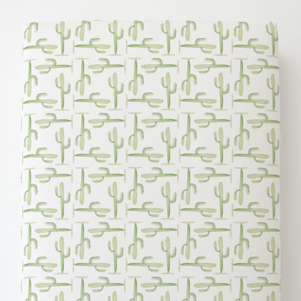 Product image for Arizona Cactus Toddler Sheet Bottom Fitted
