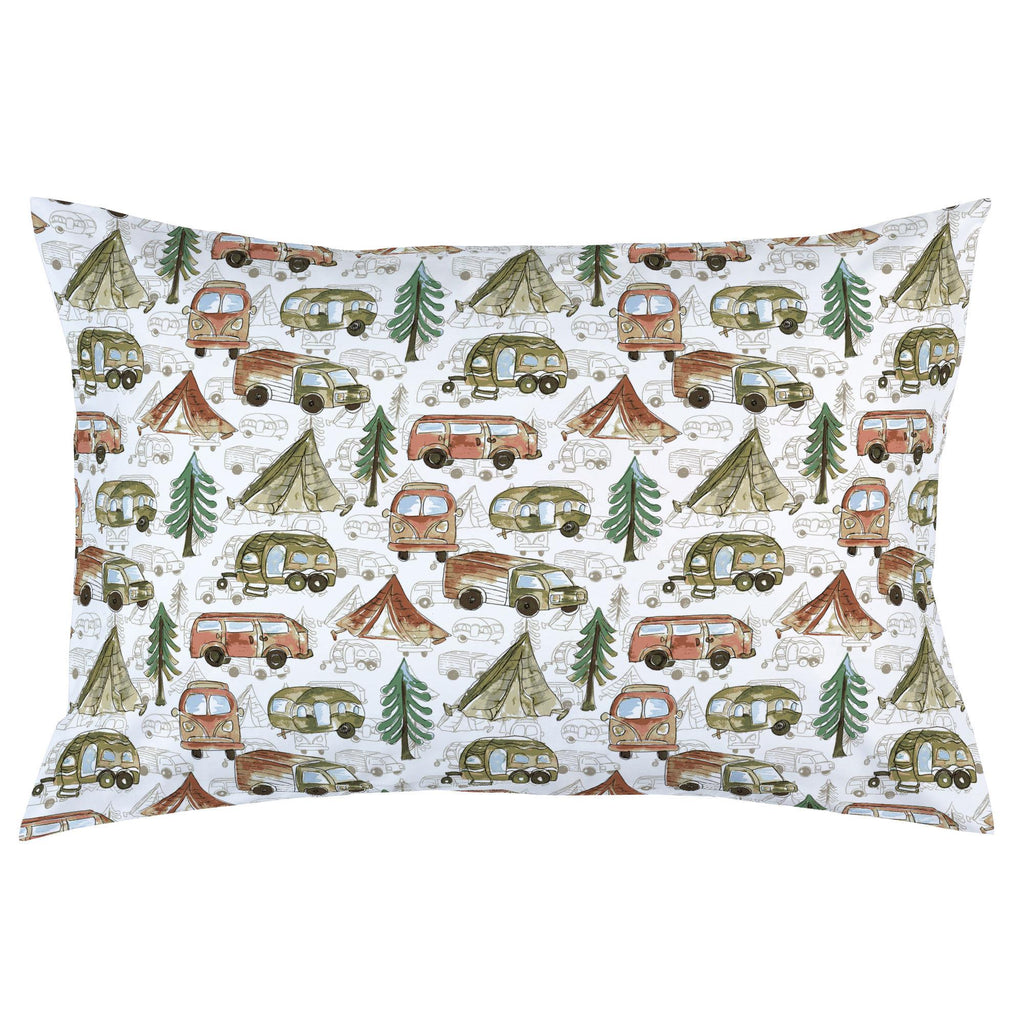 Product image for Gone Camping Pillow Case
