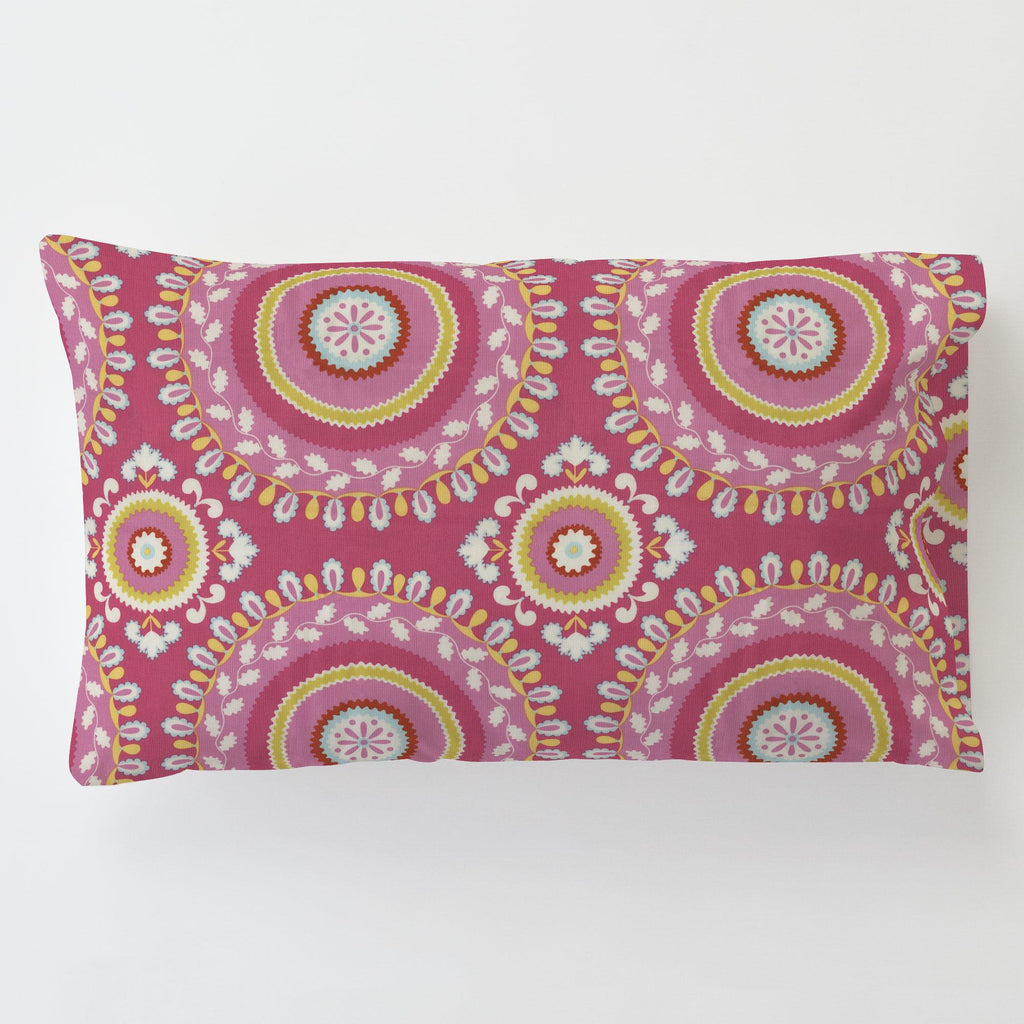 Product image for Kumari Garden Jeevan Toddler Pillow Case with Pillow Insert