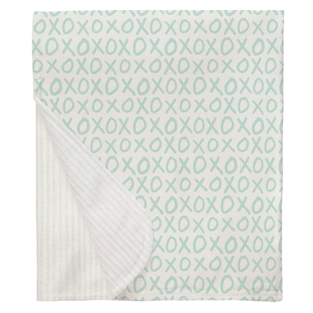 Product image for Icy Mint XO Baby Blanket
