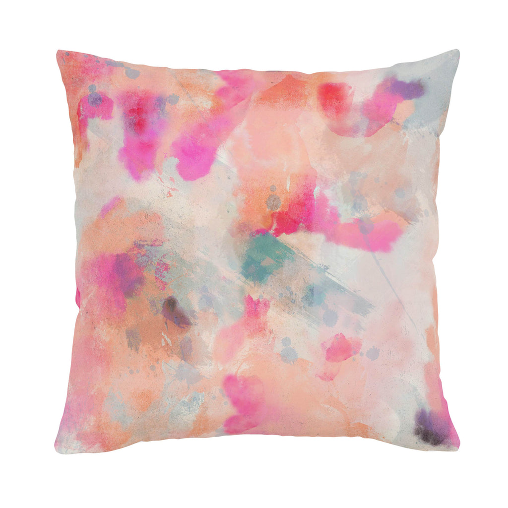 Product image for Coral Abstract Throw Pillow