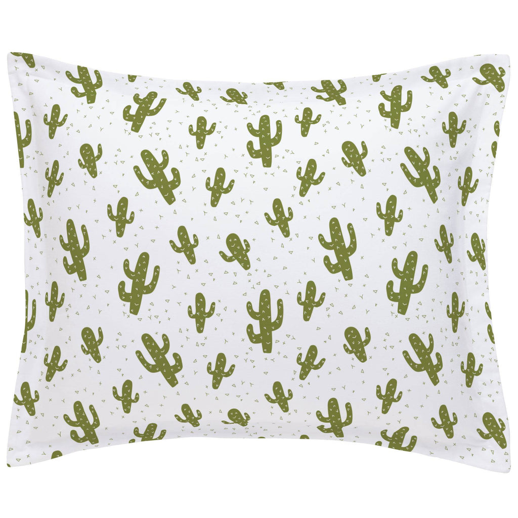 Product image for Sage Cactus Pillow Sham