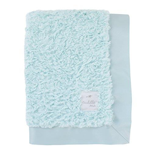 Product image for Aqua Cuddle Me Plush Blanket