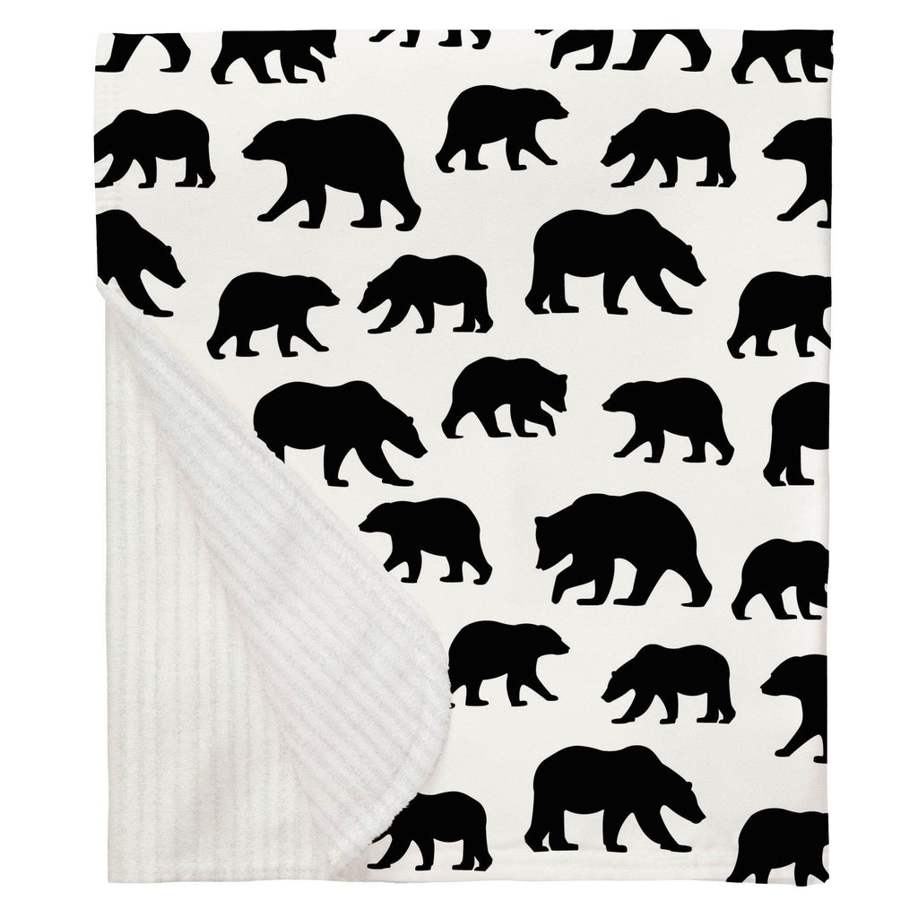 Product image for Onyx Bears Baby Blanket
