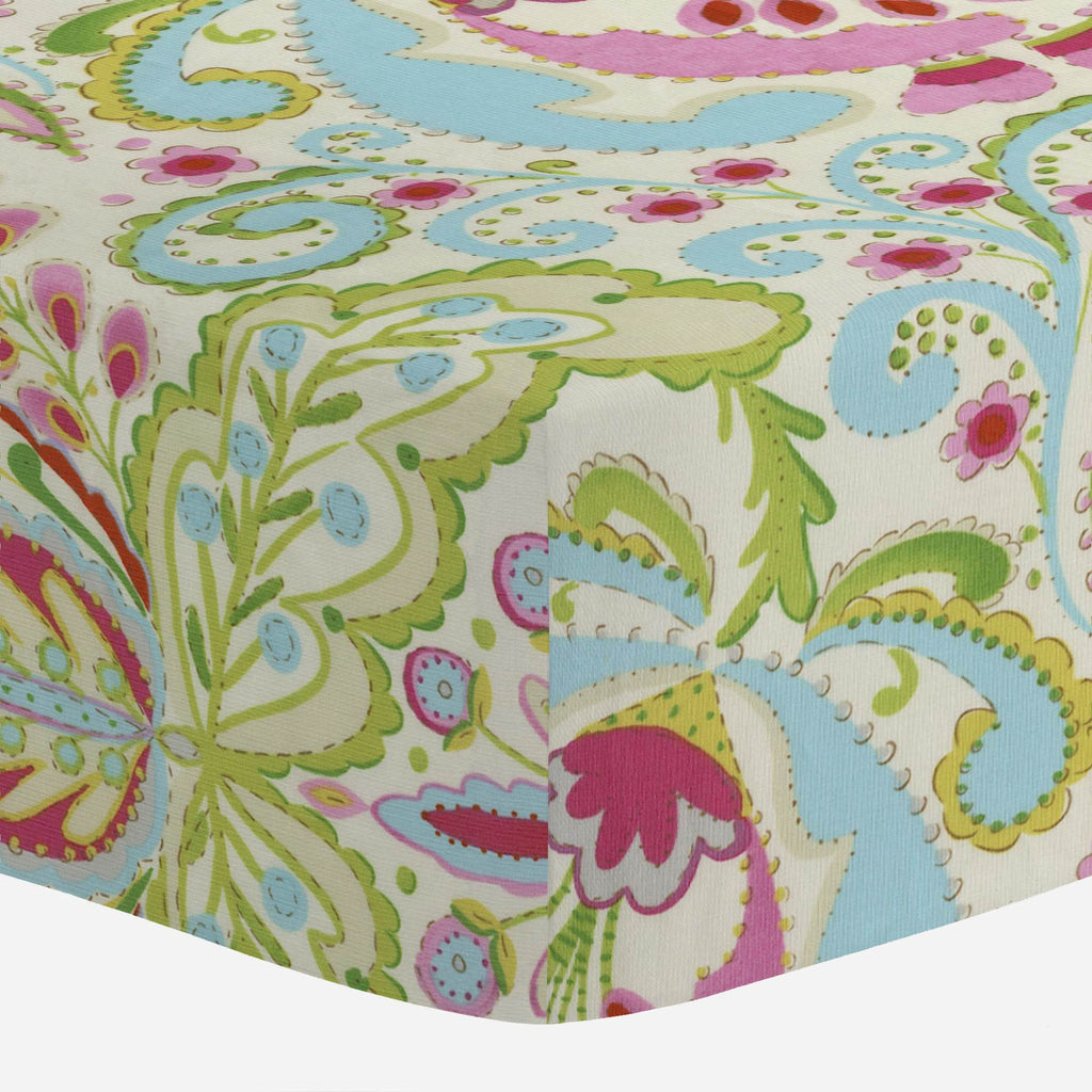 Product image for Kumari Garden Teja Crib Sheet